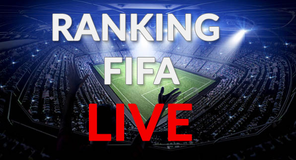 FIFA world rankings - LIVE