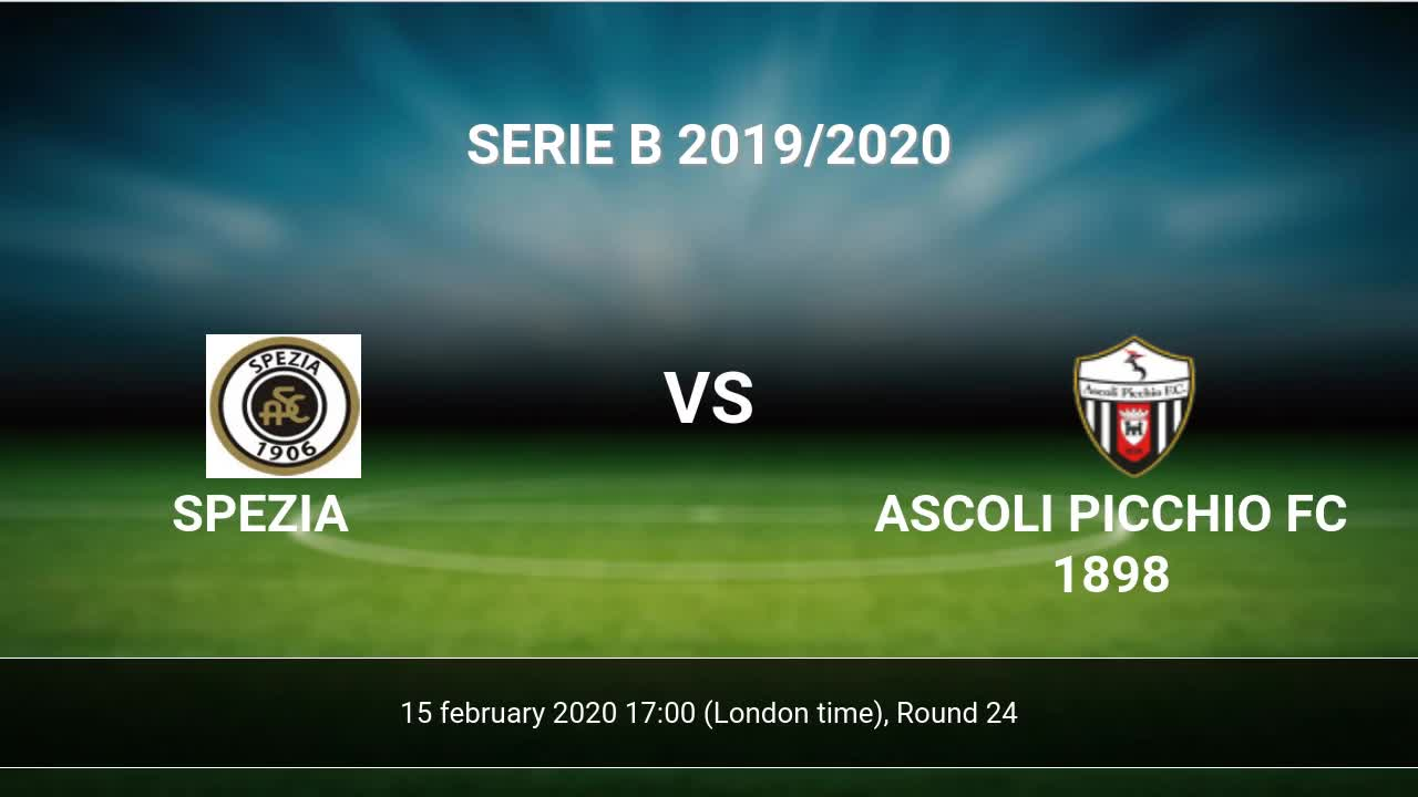 Ascoli vs spezia betting expert basketball trade binary options with paypal