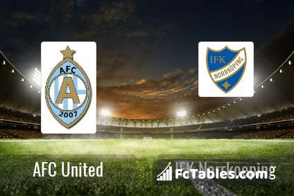 Preview image AFC United - IFK Norrkoeping