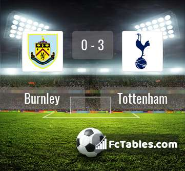 Preview image Burnley - Tottenham