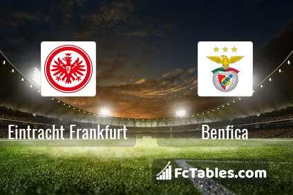 Preview image Eintracht Frankfurt - Benfica