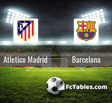 Preview image Atletico Madrid - Barcelona