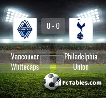 Preview image Vancouver Whitecaps - Philadelphia Union