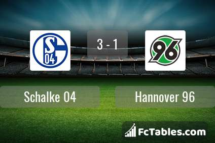 Preview image Schalke 04 - Hannover 96