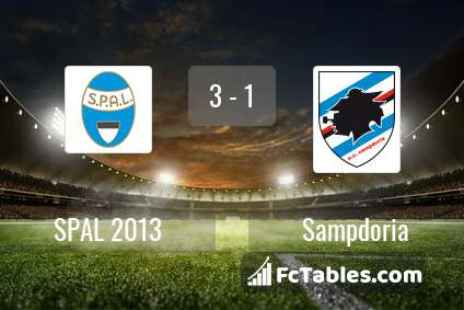 Preview image SPAL - Sampdoria