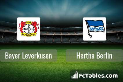 Preview image Bayer Leverkusen - Hertha Berlin