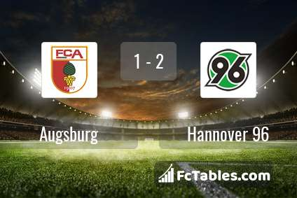 Preview image Augsburg - Hannover 96