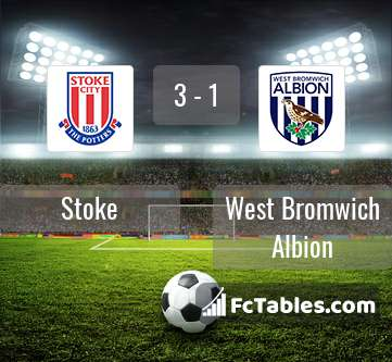 Preview image Stoke - West Bromwich Albion