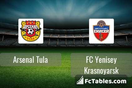Preview image Arsenal Tula - FC Yenisey Krasnoyarsk