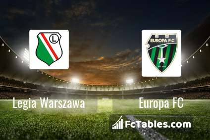 Preview image Legia Warszawa - Europa FC