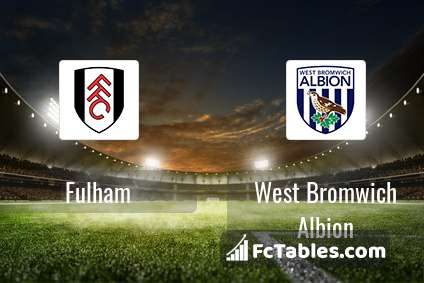Preview image Fulham - West Bromwich Albion
