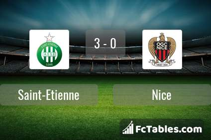 Preview image Saint-Etienne - Nice