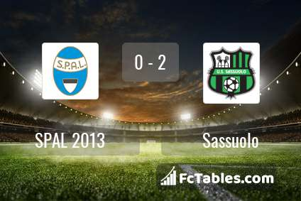 Preview image SPAL - Sassuolo