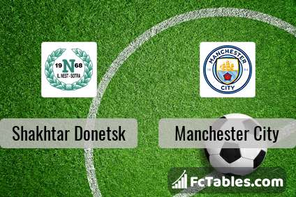 Preview image Shakhtar Donetsk - Manchester City