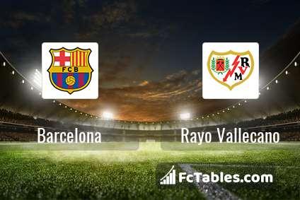 Preview image Barcelona - Rayo Vallecano