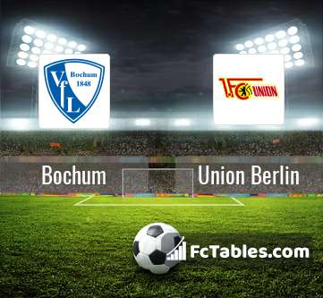 Bochum Vs Union Berlin H2h 19 May 2019 Head To Head Stats