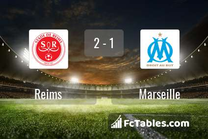 Preview image Reims - Marseille