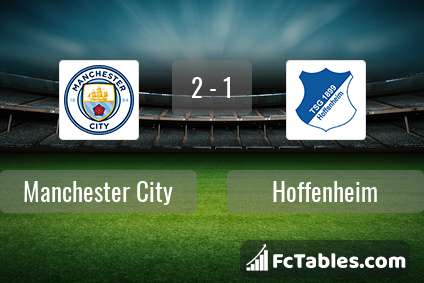 Preview image Manchester City - Hoffenheim