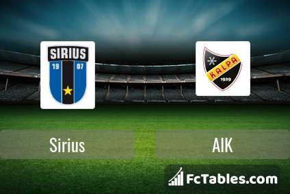 Preview image Sirius - AIK