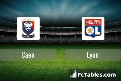 Preview image Caen - Lyon
