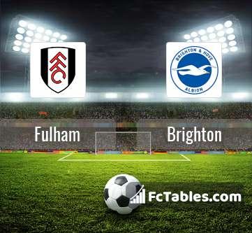 Anteprima della foto Fulham - Brighton & Hove Albion