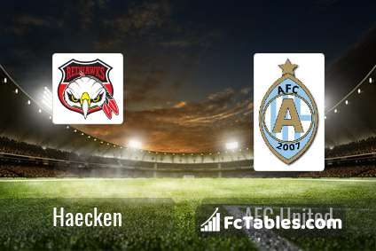 Preview image Haecken - AFC United