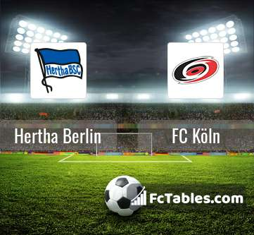 Preview image Hertha Berlin - FC Köln