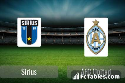 Preview image Sirius - AFC United