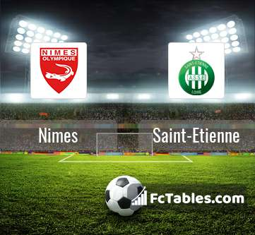 Preview image Nimes - Saint-Etienne