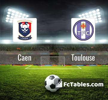 Preview image Caen - Toulouse