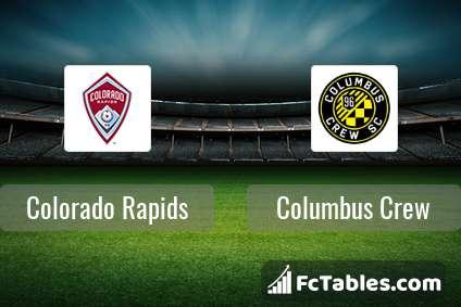 Preview image Colorado Rapids - Columbus Crew