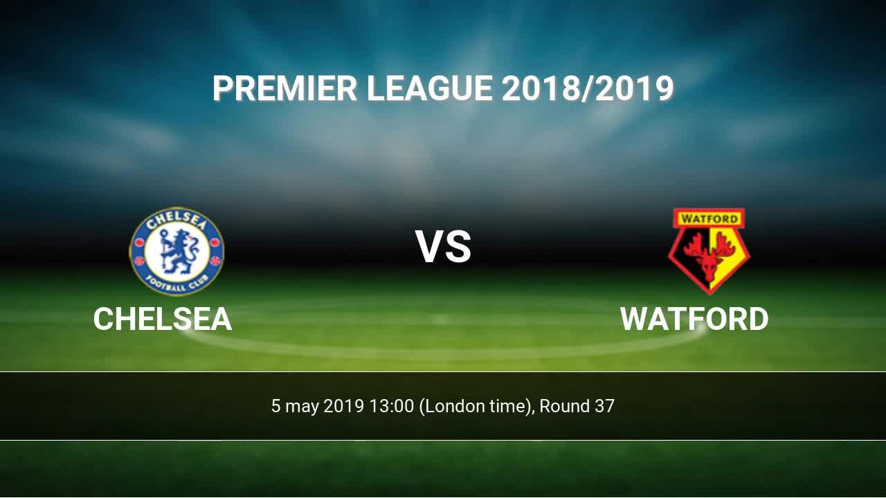 Chelsea vs watford h2h
