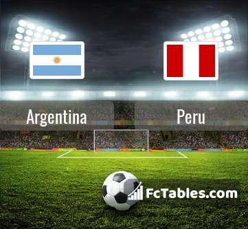 Preview image Argentina - Peru