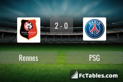 Preview image Rennes - PSG
