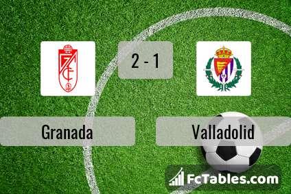 Preview image Granada - Valladolid