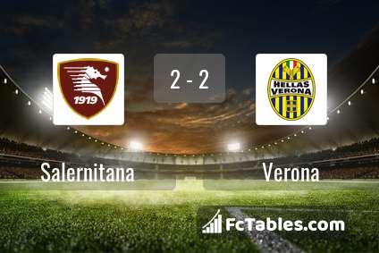 Preview image Salernitana - Verona