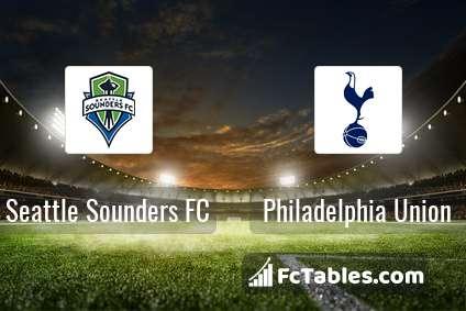 Preview image Seattle Sounders FC - Philadelphia Union
