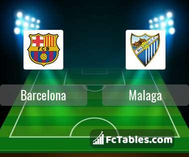 Preview image Barcelona - Malaga