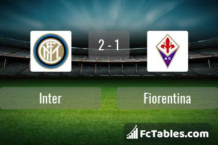 Preview image Inter - Fiorentina