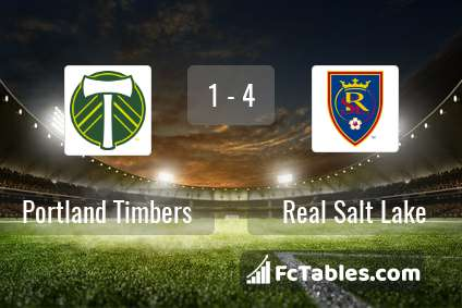 Preview image Portland Timbers - Real Salt Lake