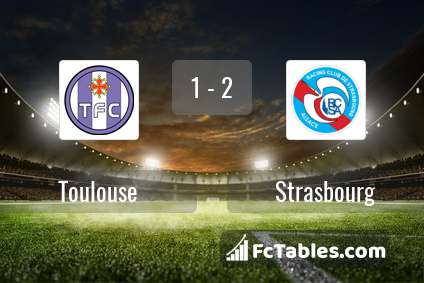 Preview image Toulouse - Strasbourg