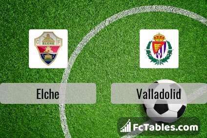 Preview image Elche - Valladolid