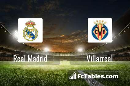 Preview image Real Madrid - Villarreal