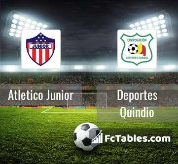 Atletico Junior Deportes Quindio H2H