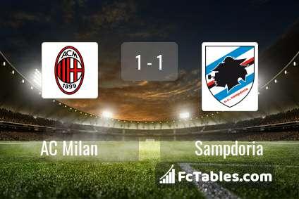 Preview image AC Milan - Sampdoria