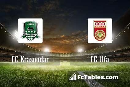 Preview image FC Krasnodar - FC Ufa