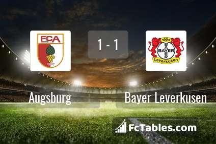 Preview image Augsburg - Bayer Leverkusen