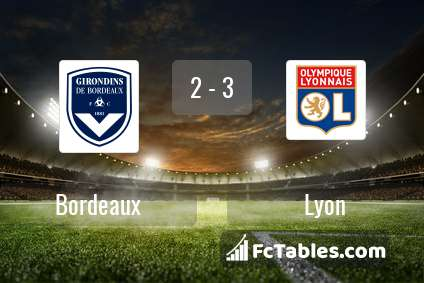 Preview image Bordeaux - Lyon