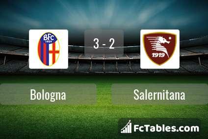 Preview image Bologna - Salernitana