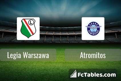 Preview image Legia Warszawa - Atromitos